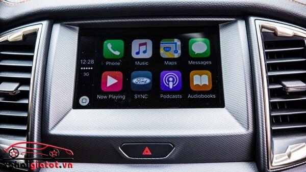 Hệ thống giải trí SYNC 3 xe Ford Ranger Wildtrak
