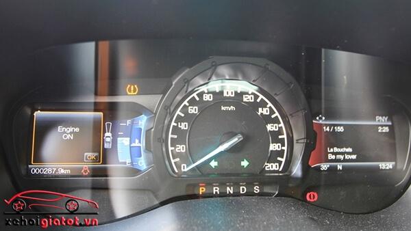Đồng hồ trung tâm xe Ford Ranger Wildtrak