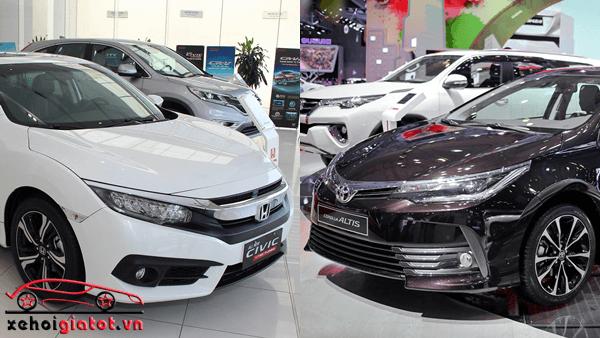 So sánh xe Toyota Altis và Honda Civic