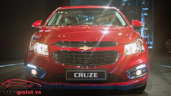 dau xe Chevrolet Cruze