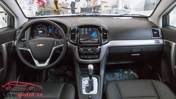 nội thất xe Chevrolet Captiva 2016