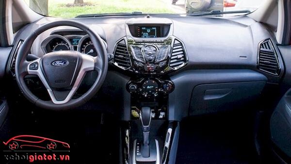 Nội thất xe Ford EcoSport Titanium Black