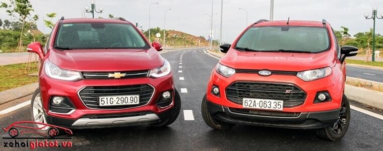 So sánh xe Ford EcoSport và Chevrolet Trax