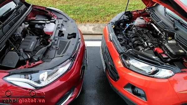 Động cơ xe Ford EcoSport và Chevrolet Trax