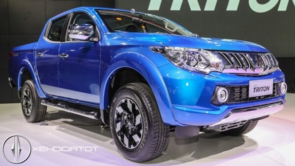 Mitsubishi Triton tiết kiệm nhiên liệu nhất