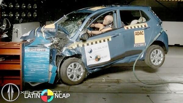 test an toàn va chạm xe Hyundai Grand i10