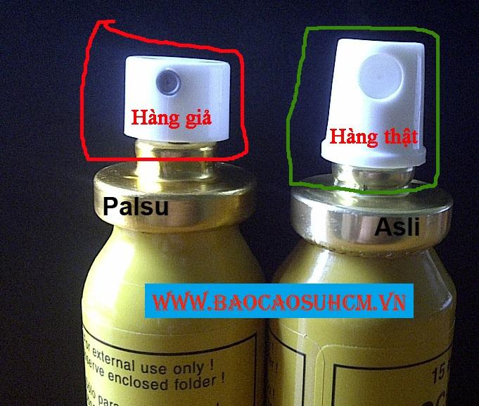 Cách phân biệt Procomil Spray thật và giả