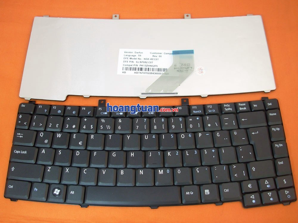 Bàn phim Keyboard Acer TravelMate 2200 2400 2450 4150 4650  keyboard