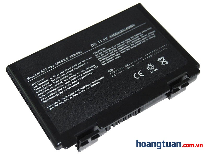 Pin Laptop ASUS X65 K50IJ K70IO battery