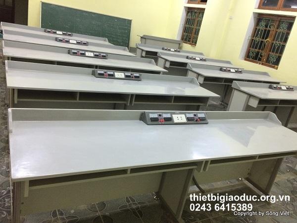 bàn thí nghiệm vật lý công nghệ