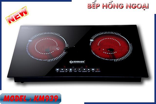 Bếp hồng ngoại cao cấp KOMASU 939 đang là sản phẩm