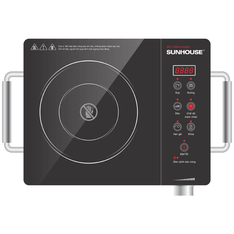 Bếp hồng ngoại cảm ứng Sunhouse SHD6008. Gía bán: 1.150.000đ