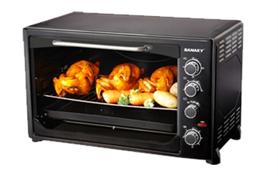 Lò nướng cũng có chế độ hâm nóng nhanh và dễ sử dụng