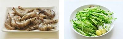 Nguyên liệu cho món canh bầu nấu tôm rất đơn giản