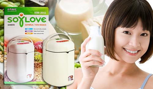 Máy làm sữa đậu nành cao cấp Soylove IOM-201A
