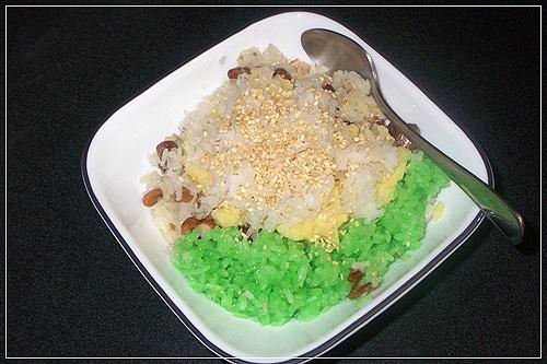 Bữa sáng căng tràn năng lượng với món xôi đậu xanh hấp dẫn