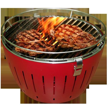 Lò nướng than cũng được nhiều người tin dùng