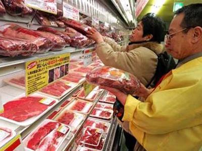 Các loại thịt được bảo quản trong tủ đông ở nhiệt độ thấp