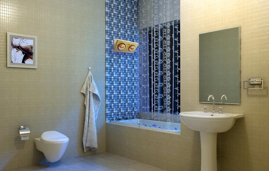 Phòng tắm sẽ ấm áp và sang trọng hơn rất nhiều