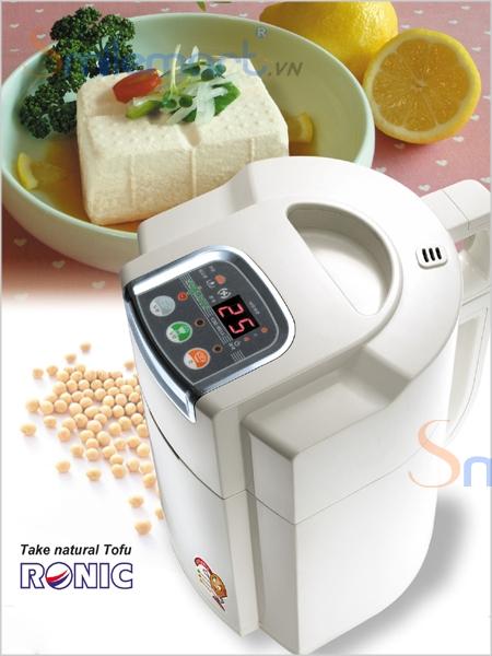 Linh kiện máy làm sữa đậu nành Soylove bằng inox rất an toàn cho sức khoẻ