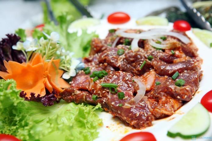 Thịt nướng được tầm ướng gia vị đầy đủ món nướng sẽ thơm ngon hơn rất nhiều