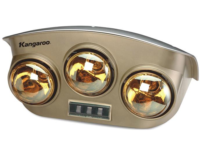 Đèn sưởi ba bóng Kangaroo giá rẻ tiện dụng đa năng