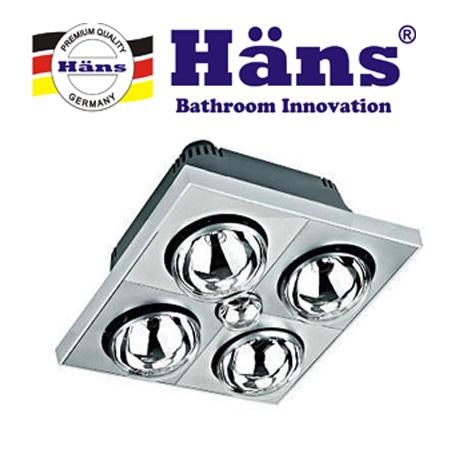 Đèn sưởi nhà tắm Hans H4B110