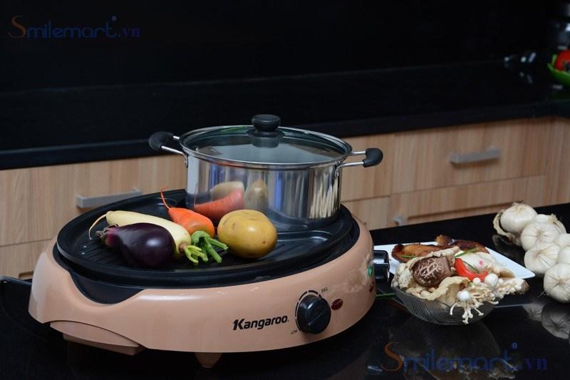 Bếp lẩu nướng Kangaroo đang được rất nhiều người dùng lựa chọn