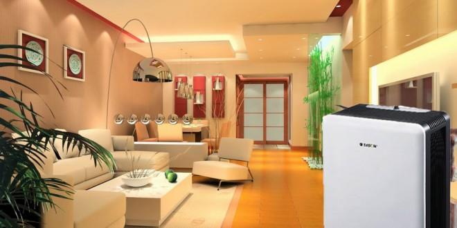 Máy hút ẩm mang đến sự sạch sẽ khô thoáng cho căn phòng gia đình bạn