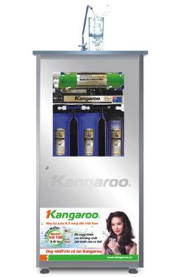 Máy lọc nước Kangaroo KG108 bổ sung lõi tạo khoáng tốt cho sức khỏe