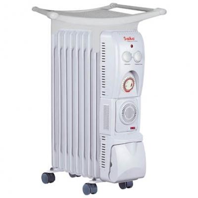 Máy sưởi dầu Saiko tiện lợi với 13 thanh sưởi ấm