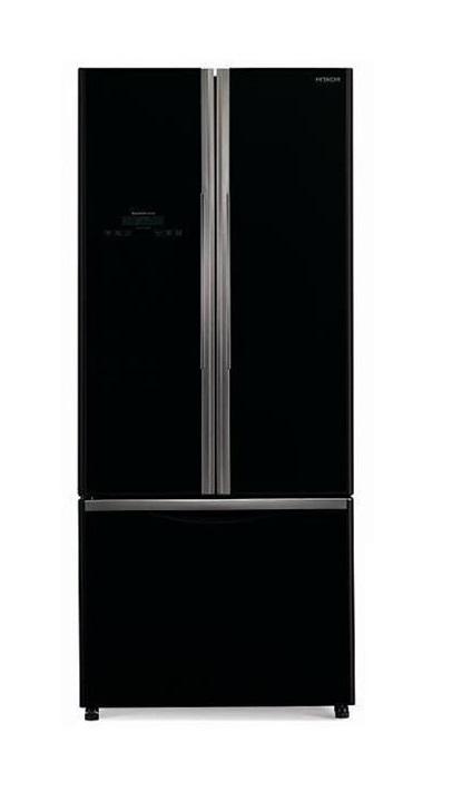 Tủ lạnh Hitachi R-WB550PGV2 với màu đen sang trọng