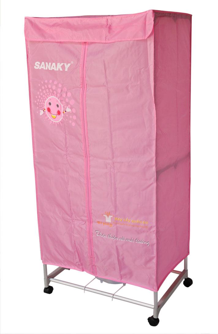 Máy sấy quần áo Sanaky AT-900V dạng tủ đứng tiện dụng cũng được nhiều người tiêu dùng lựa chọn