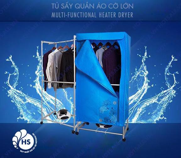 Máy sấy quần áo Pusan được nhập khẩu nguyên chiếc từ Hàn Quốc