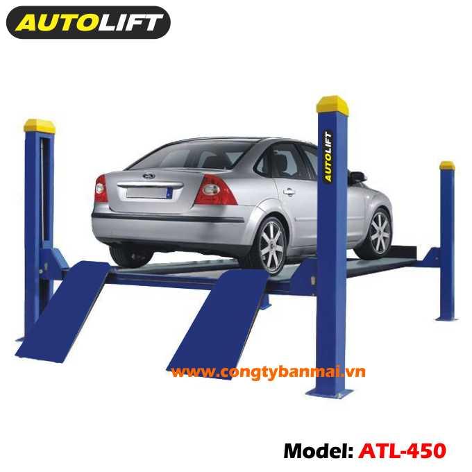 Cầu nâng xe ô tô 4 trụ, cầu nâng ô tô 4 trụ