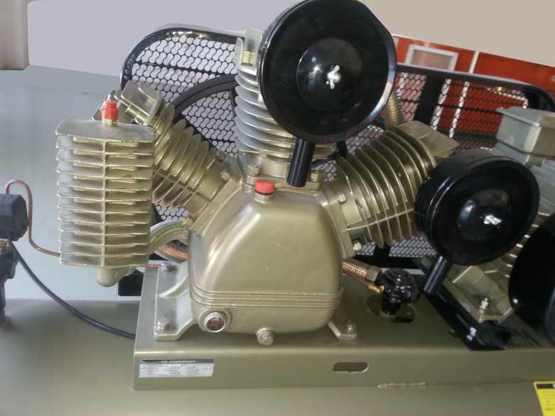 máy nén khí pistong, máy bơm hơi piston, đầu nén khí, bình khí nén,  bình tích áp, bình chứa khí nén