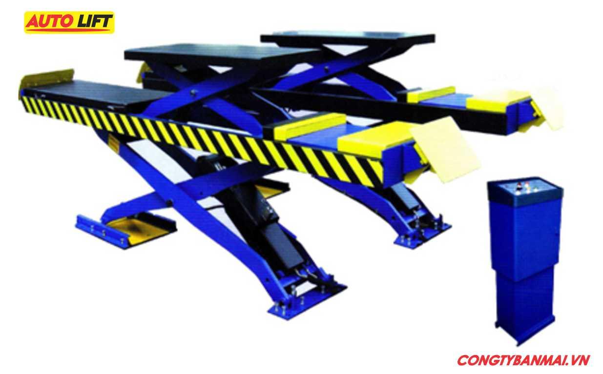 cầu nâng kiểu xếp 3,5 tấn, cầu nâng cắt kéo 4 tấn, cầu nâng chữ X