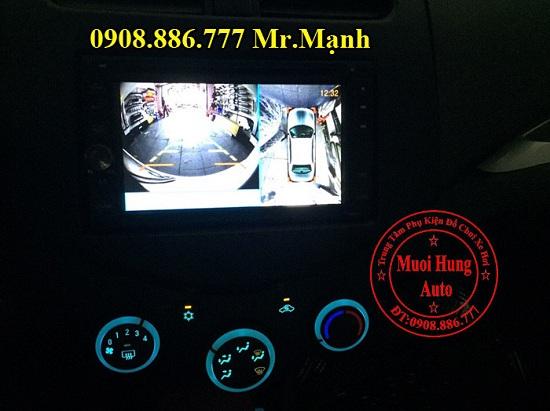 Camera 360 Độ Chevrolet Spark Chính Hãng 04