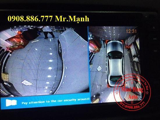 Camera 360 Độ Chevrolet Spark Chính Hãng 05