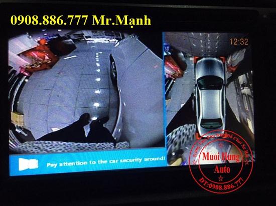 Camera 360 Độ Chevrolet Spark Chính Hãng 06