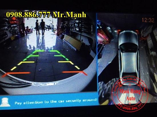 Camera 360 Độ Chevrolet Spark Chính Hãng 07