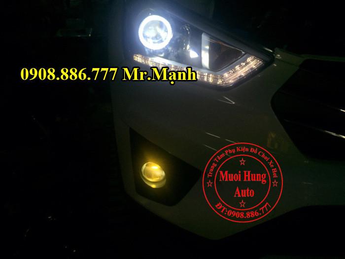 Độ Đèn Bi Xenon Cản Xe Creta ix25 03