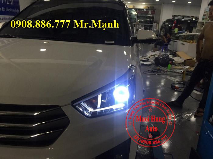 Độ Đèn Pha Led Xe Hyundai Creta ix25 03