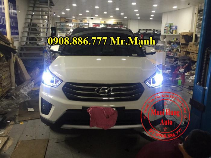 Độ Đèn Pha Led Xe Hyundai Creta ix25 04