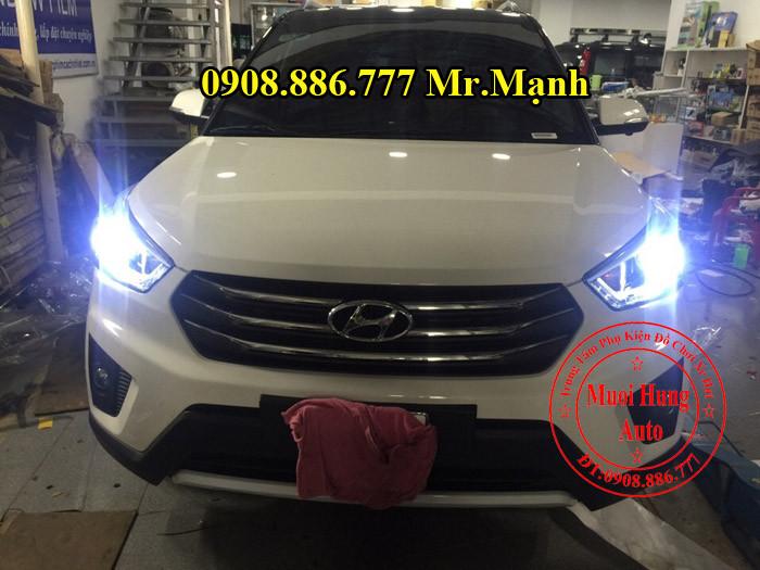 Độ Đèn Pha Led Xe Hyundai Creta ix25 05
