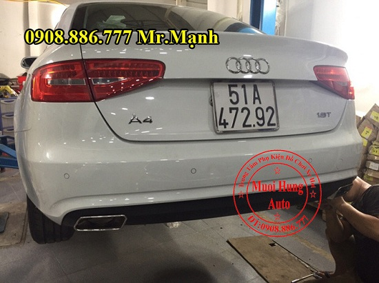 Độ Pô Xe Audi A4 Chuyên Nghiệp 02