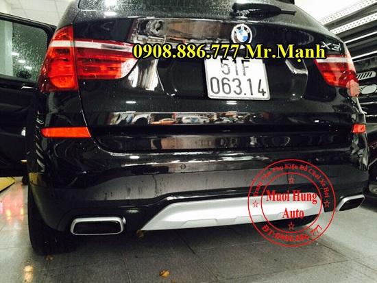 Độ Pô Xe BMW X3 Chuyên Nghiệp 01