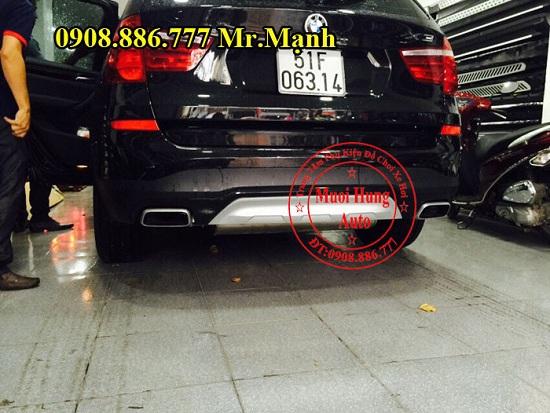 Độ Pô Xe BMW X3 Chuyên Nghiệp 02