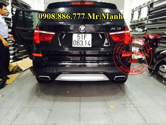 Độ Pô Xe BMW X3 Chuyên Nghiệp 03
