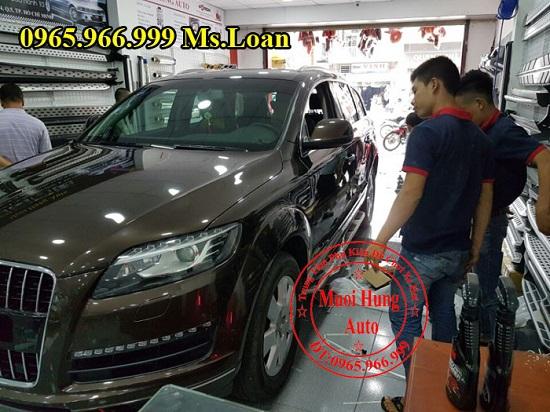 Bệ Bước Chân Cho Audi Q7 2012